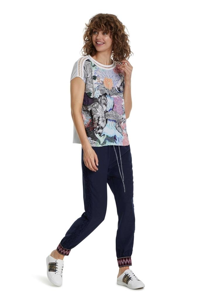 T-shirt Femme Desigual - Boutique Turbulence Aire sur Adour