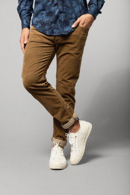 Pantalon velours PAN0325A 1736A 142