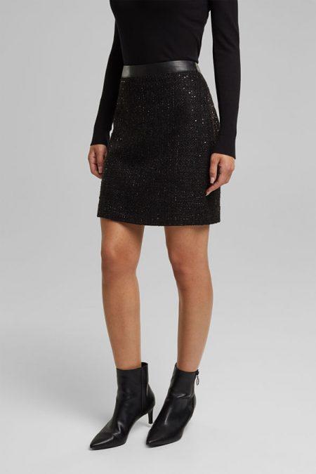 Mini-jupe Femme Esprit 110EE1D312