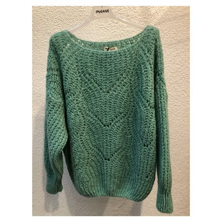 Pull grosse maille Femme Please M650361773