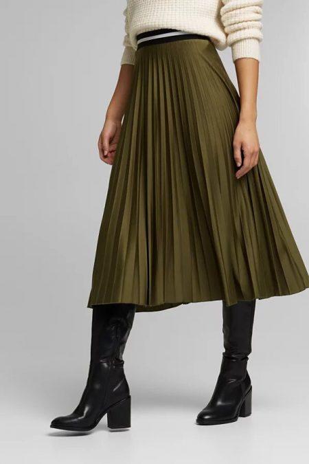 jupe plissée Esprit 120EE1D306