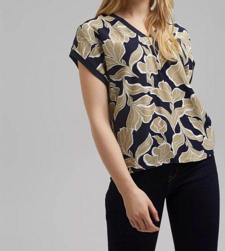 Tee-shirt Col V Esprit