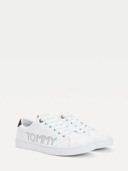 Basket blanc Tommy Hilfiger Femme FW0FW05544