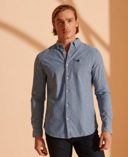 Chemise Oxford Manches Longues Super Dry