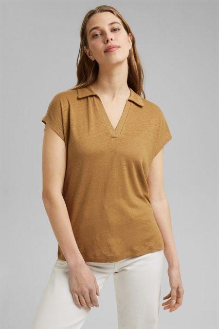 Tee-shirt à col polo Esprit