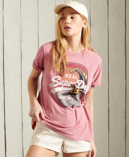 Tee-shirt logo Super Dry