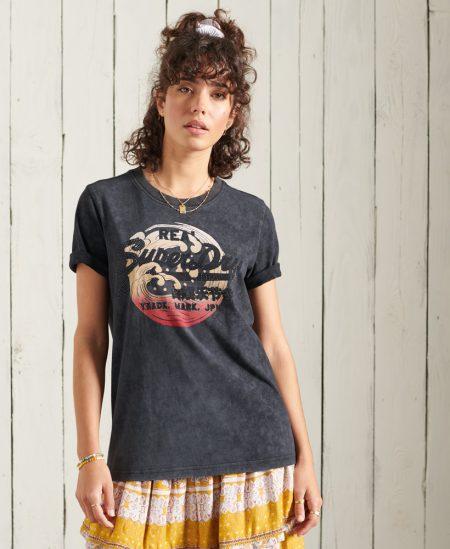 Tee-shirt logo vintage SuperDry