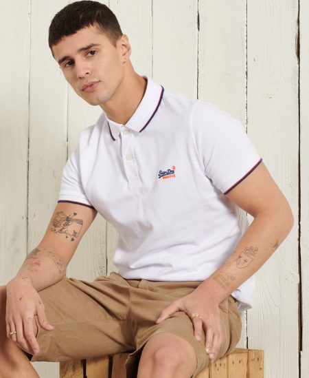 Polo manches courtes Superdry