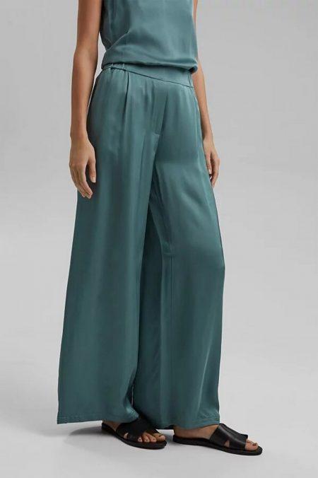 Pantalon taille élastique Esprit