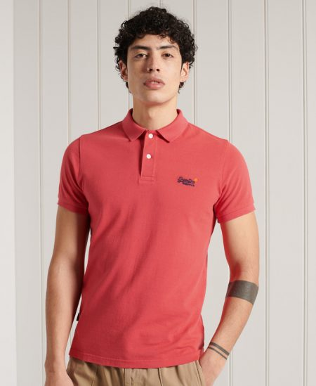 Polo manches courtes Super Dry