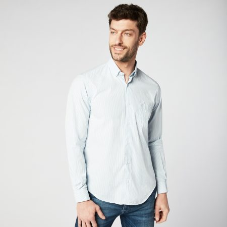 Chemise manches longues Homme Serge Blanco