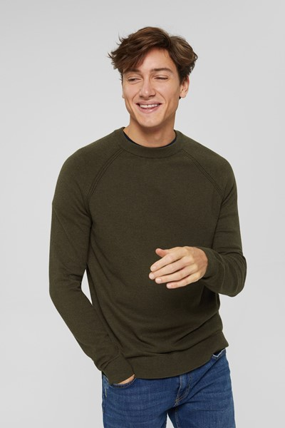 Pull col rond Homme Esprit