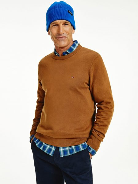 Pull col rond Tommy Hilfiger