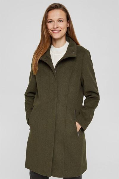 Manteau en laine Esprit